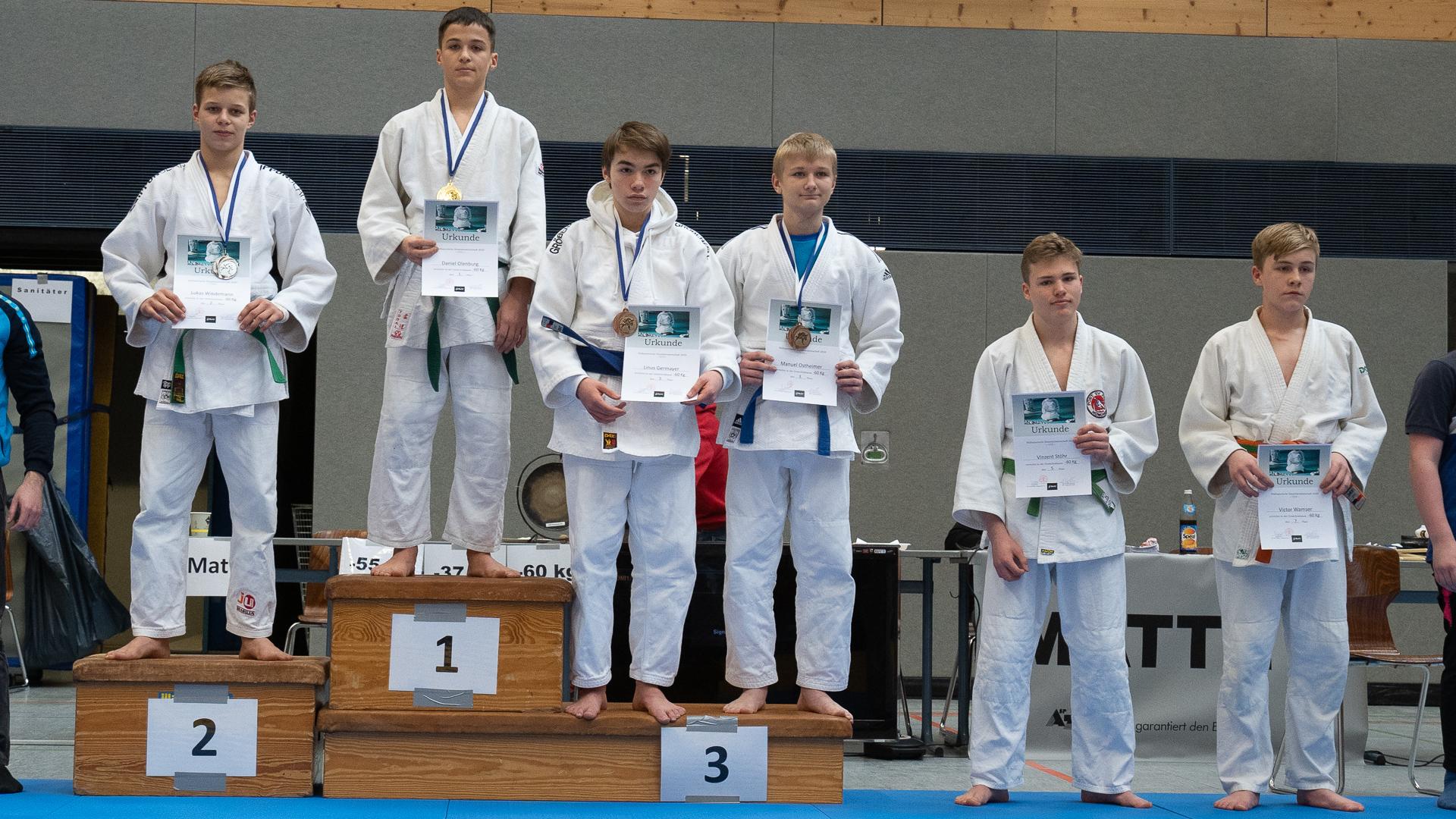 Südbayerische Einzelmeisterschaft MU15