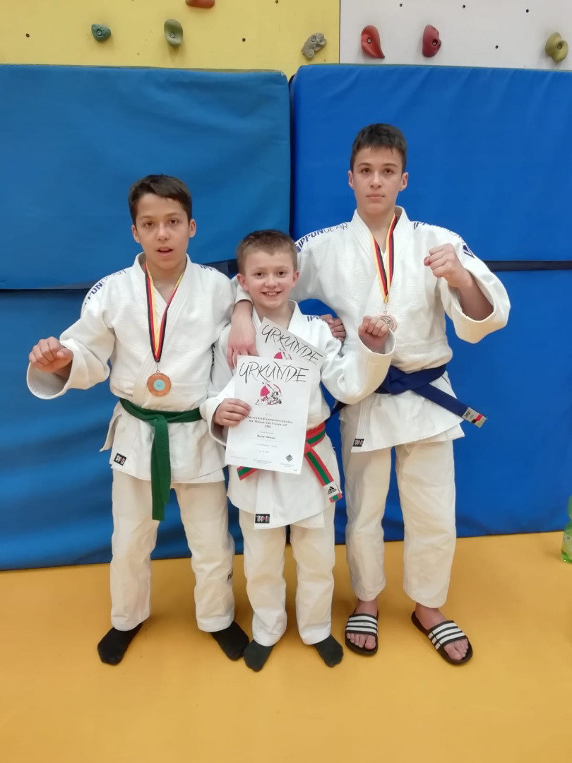 Starke Judo-Leistungen der Aiblinger Kämpfer in Heilbronn