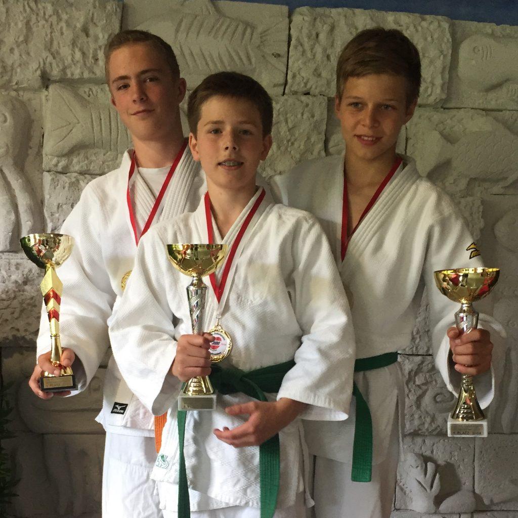 Lucca Vent, Luis Klar, Lukas Wiedemann