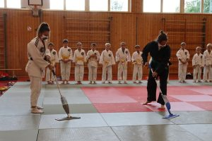 Ostermünchner Judoka starten nach sieben Monaten Abstinenz in ein etwas anderes Training