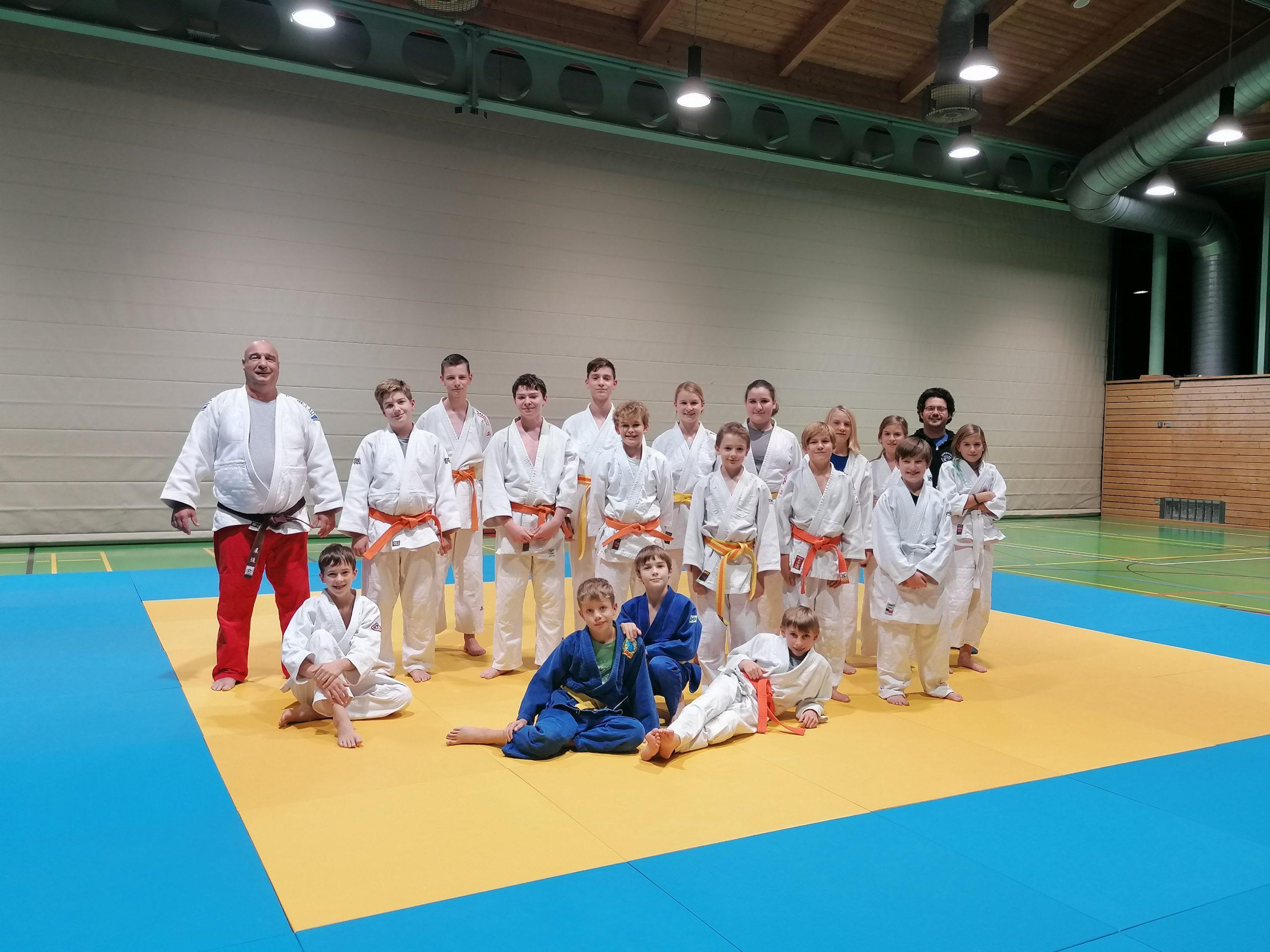 Judotraining auch mit dem Judoclub aus Fürstenfeldbruck