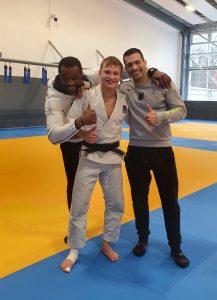 Judoka Patrick Weisser auf Platz 1