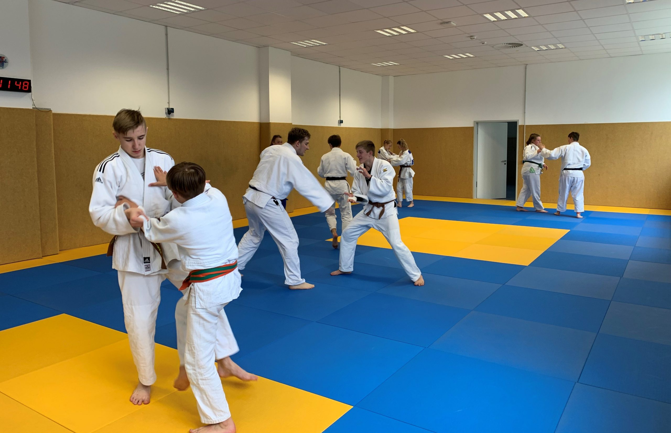 Read more about the article Kadertraining des Bayerischen Judo-Verbands in Bad Aibling