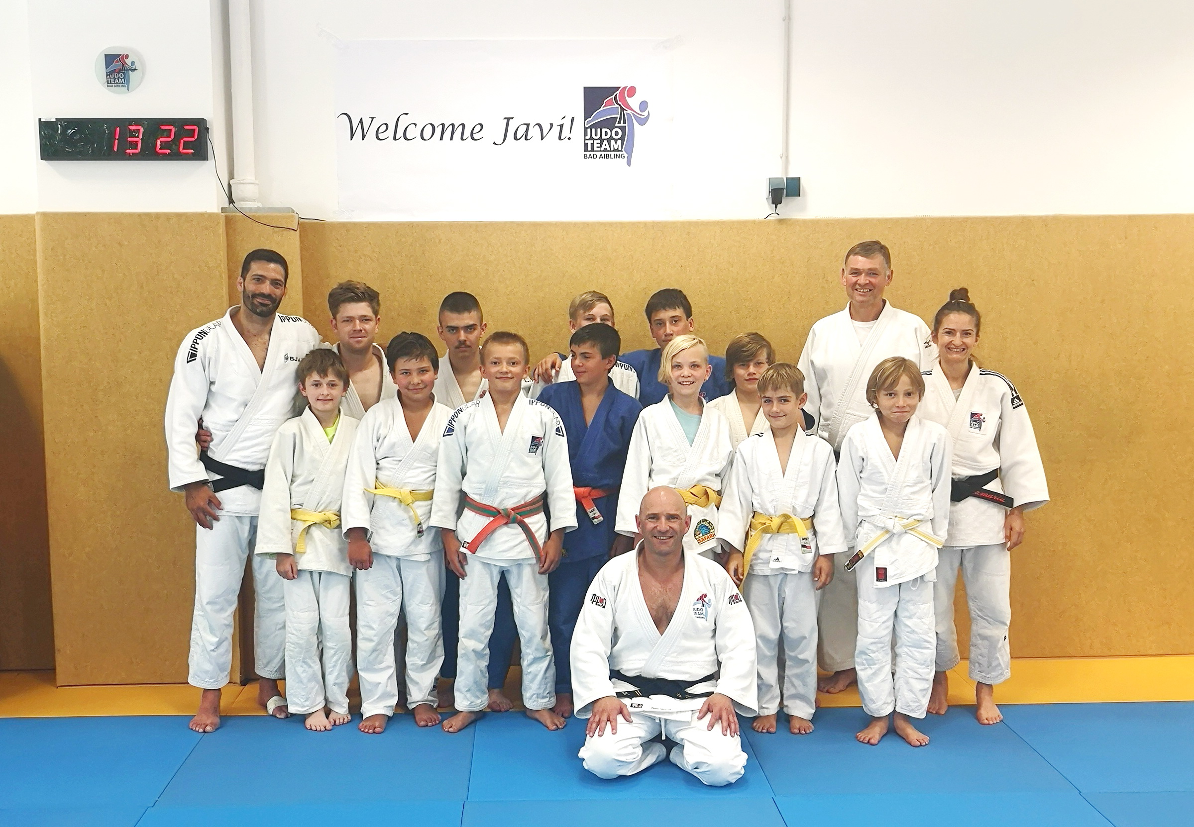 You are currently viewing Back to Judo – Judolehrgang mit Javier Madera in Bad Aibling