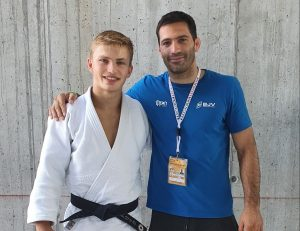 Read more about the article Judoka Patrick Weisser kämpfte in Italien