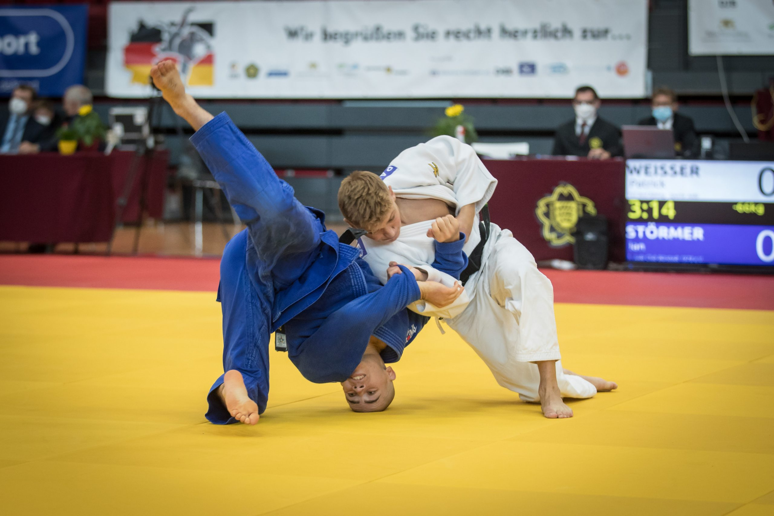 Read more about the article Aiblinger Judoka starteten bei Deutscher Meisterschaft der Männer 2021                                                          Patrick Weisser belegt Platz 5 in Stuttgart